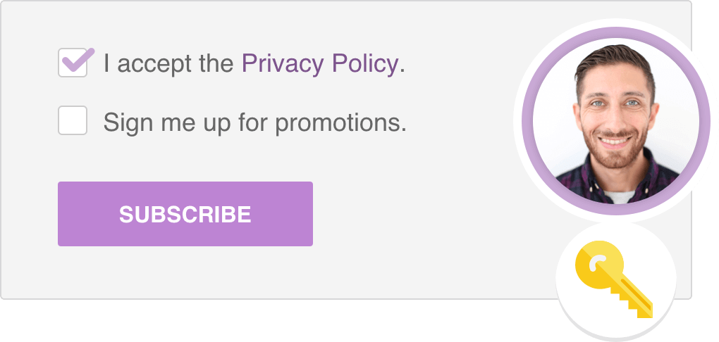 Subscription Forms suitable for GDPR