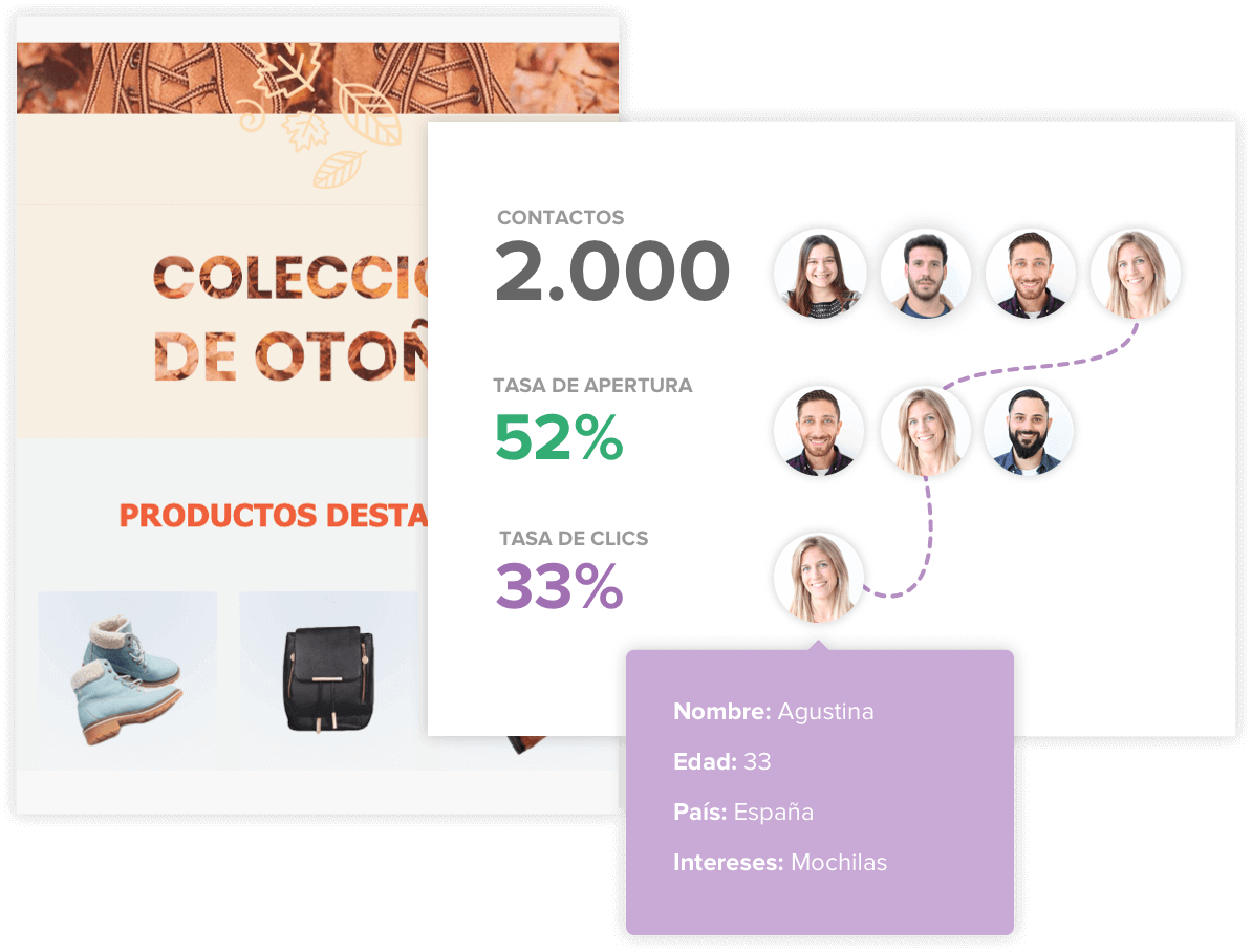 Reportes de métricas en Email Marketing